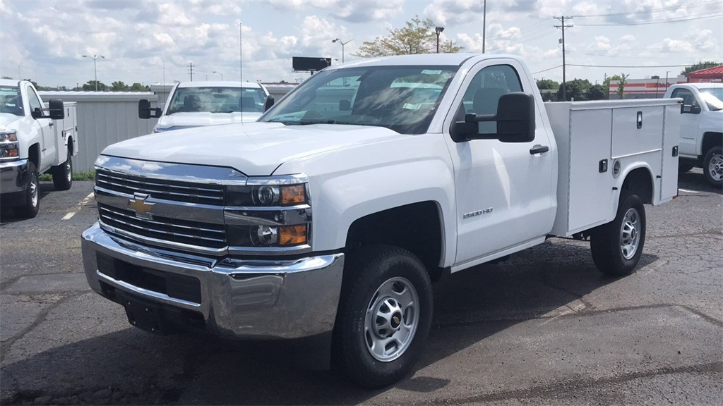 2017 Silverado 2500 Regular Cab 4x4,  Knapheide Service Body #CHZ218776 - photo 5