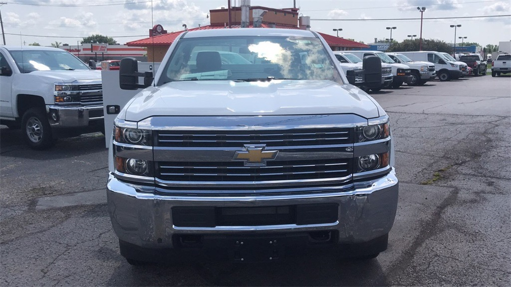 2017 Silverado 2500 Regular Cab 4x4,  Knapheide Service Body #CHZ218776 - photo 6