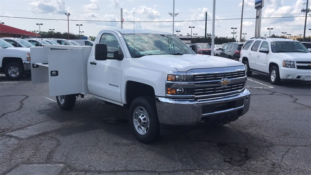 2017 Silverado 2500 Regular Cab 4x4,  Knapheide Service Body #CHZ218776 - photo 7