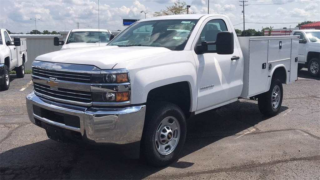 2017 Silverado 2500 Regular Cab 4x4,  Knapheide Service Body #CHZ218776 - photo 33
