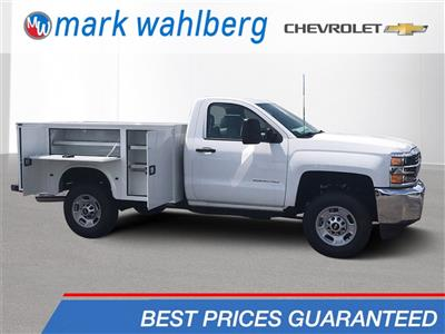 2017 Silverado 2500 Regular Cab 4x4,  Knapheide Standard Service Body #CHZ218776 - photo 1