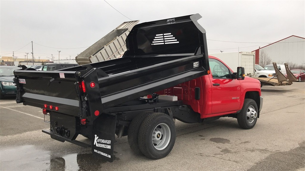 2017 Silverado 3500 Regular Cab DRW 4x2,  Cab Chassis #CHZ256656 - photo 3