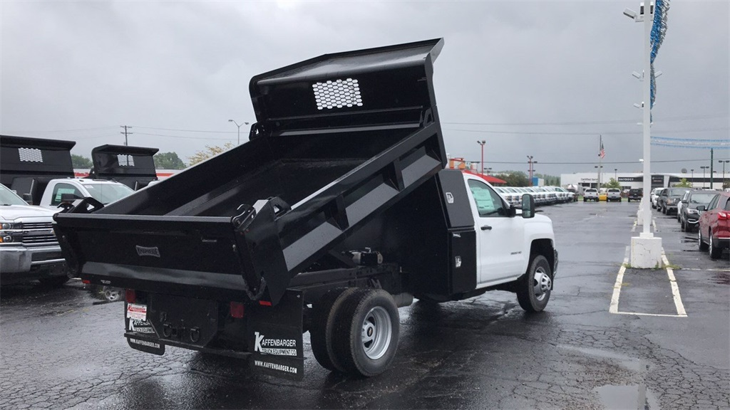 2018 Silverado 3500 Regular Cab DRW 4x4,  Knapheide Dump Body #CJF102109 - photo 6
