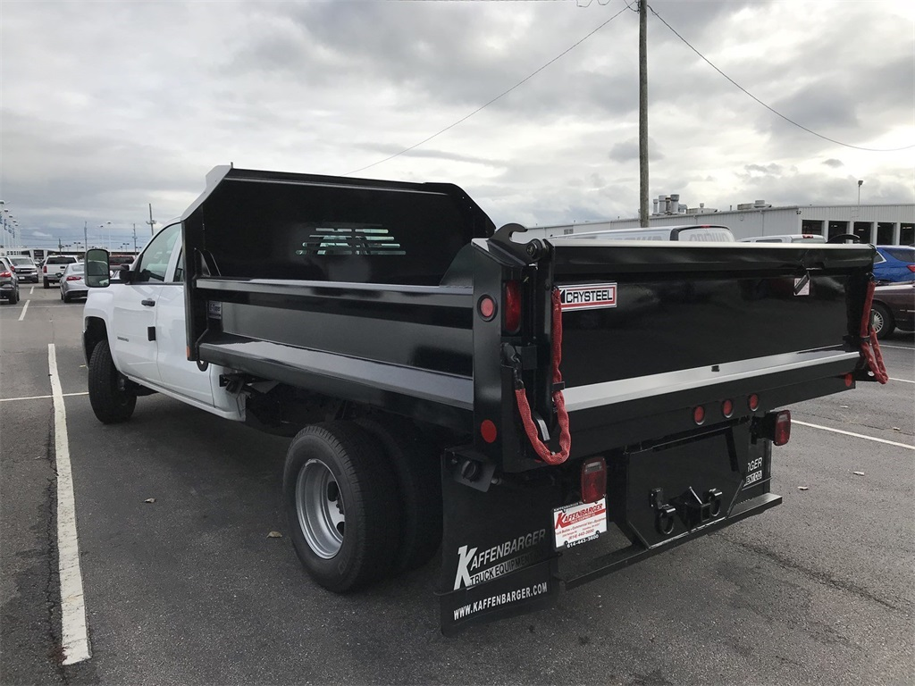 2018 Silverado 3500 Crew Cab DRW 4x2,  Crysteel E-Tipper Dump Body #CJF105851 - photo 3
