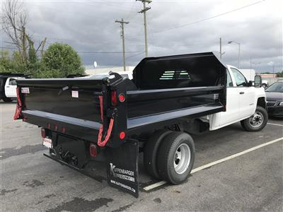 2018 Silverado 3500 Crew Cab DRW 4x2,  Crysteel E-Tipper Dump Body #CJF105851 - photo 2