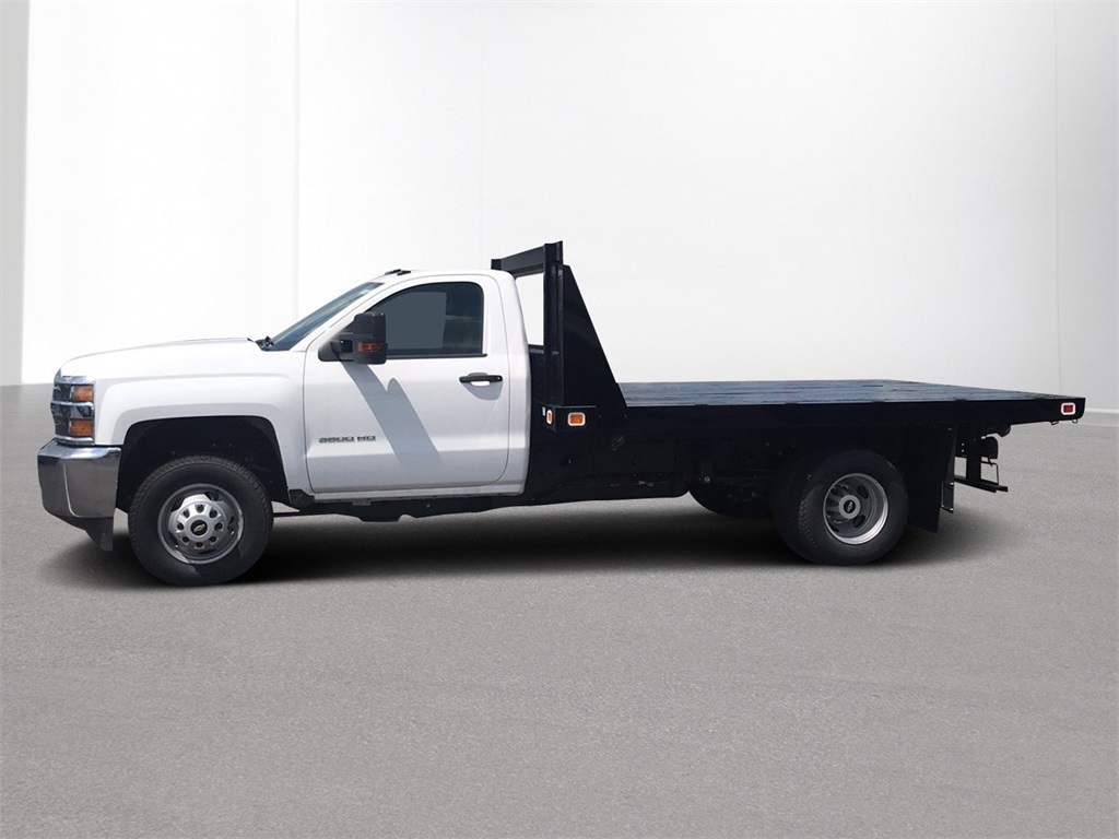 2018 Silverado 3500 Regular Cab DRW 4x2,  Knapheide Platform Body #CJF109342 - photo 4