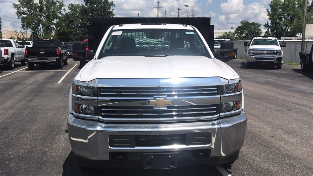 2018 Silverado 3500 Regular Cab DRW 4x2,  Knapheide Platform Body #CJF109342 - photo 6