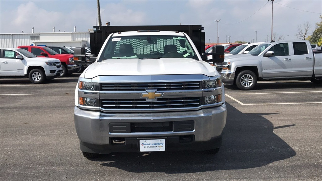 2018 Silverado 3500 Regular Cab DRW 4x2,  Knapheide Platform Body #CJF111380 - photo 6