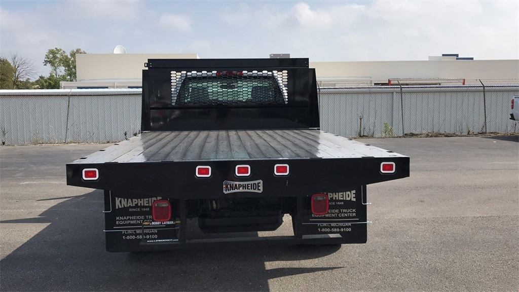2018 Silverado 3500 Regular Cab DRW 4x2,  Knapheide Platform Body #CJF111380 - photo 9