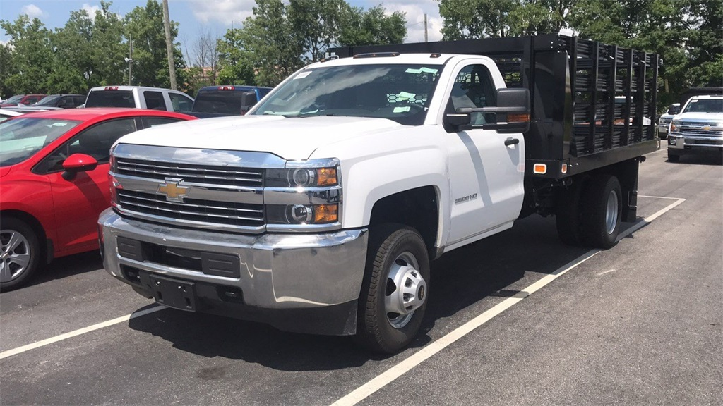 2018 Silverado 3500 Regular Cab DRW 4x2,  Knapheide Platform Body #CJF111380 - photo 35