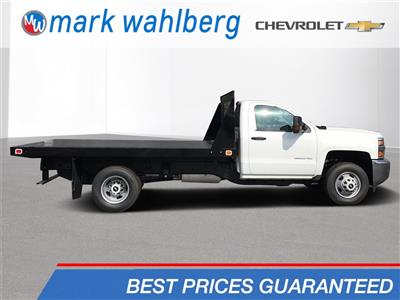2018 Silverado 3500 Regular Cab DRW 4x2,  Knapheide Value-Master X Platform Body #CJF111380 - photo 1