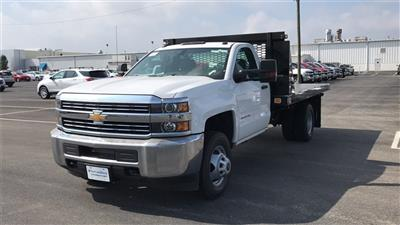 2018 Silverado 3500 Regular Cab DRW 4x2,  Knapheide Value-Master X Platform Body #CJF111380 - photo 4