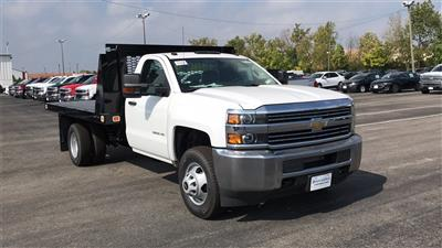 2018 Silverado 3500 Regular Cab DRW 4x2,  Knapheide Value-Master X Platform Body #CJF111380 - photo 6
