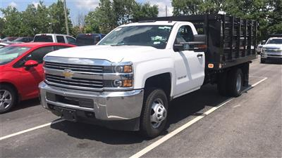 2018 Silverado 3500 Regular Cab DRW 4x2,  Knapheide Value-Master X Platform Body #CJF111380 - photo 35