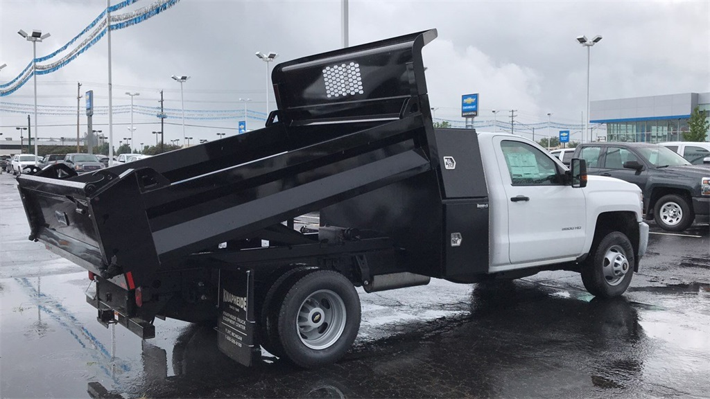 2018 Silverado 3500 Regular Cab DRW 4x2,  Knapheide Dump Body #CJF112169 - photo 6