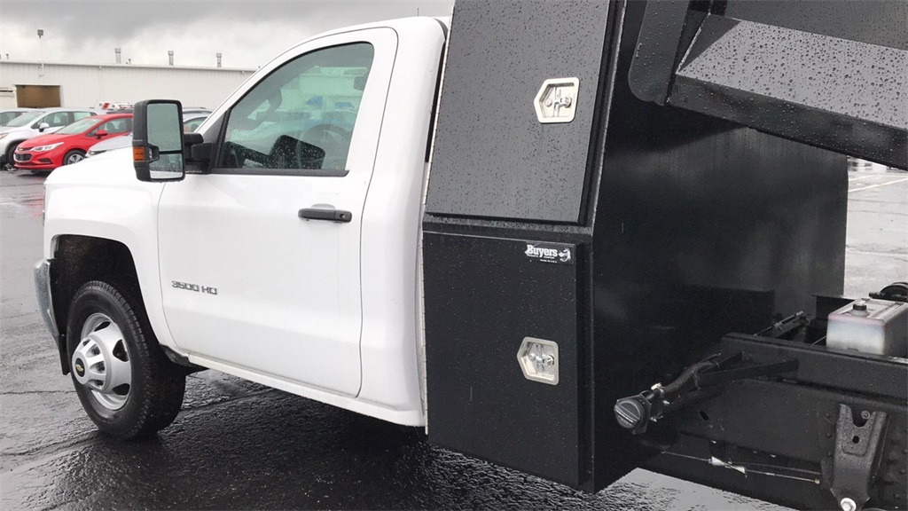 2018 Silverado 3500 Regular Cab DRW 4x2,  Knapheide Rigid Side Dump Body #CJF112169 - photo 9
