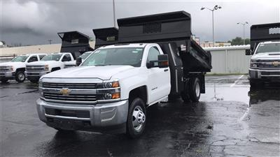 2018 Silverado 3500 Regular Cab DRW 4x2,  Knapheide Rigid Side Dump Body #CJF112169 - photo 3