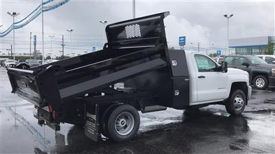 2018 Silverado 3500 Regular Cab DRW 4x2,  Knapheide Rigid Side Dump Body #CJF112169 - photo 6