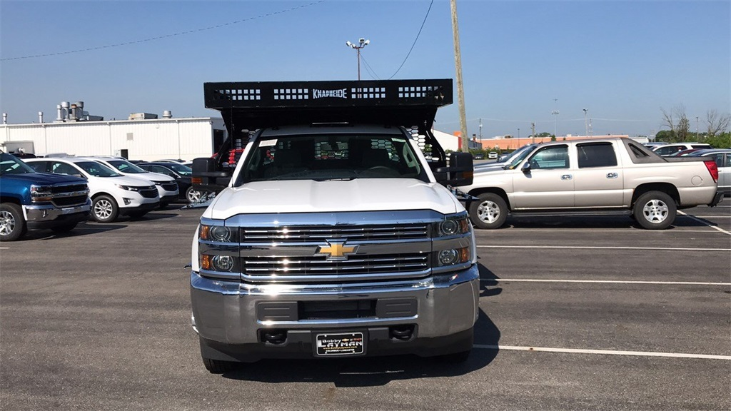 2018 Silverado 3500 Regular Cab DRW 4x2,  Knapheide Contractor Body #CJF112250 - photo 4
