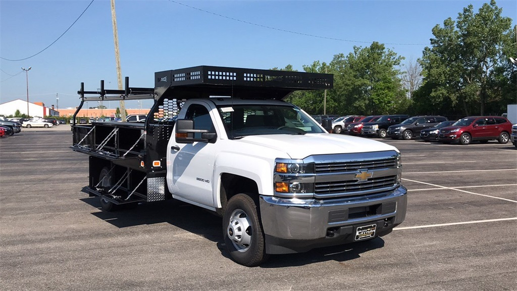2018 Silverado 3500 Regular Cab DRW 4x2,  Knapheide Contractor Body #CJF112250 - photo 5