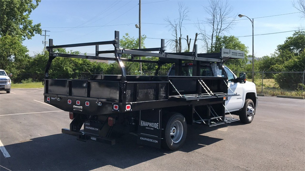 2018 Silverado 3500 Regular Cab DRW 4x2,  Knapheide Contractor Body #CJF112250 - photo 6