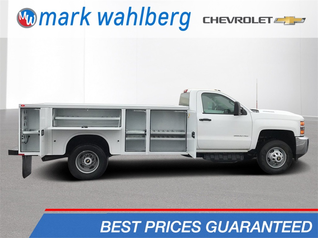 2018 Silverado 3500 Regular Cab DRW 4x2,  Service Body #CJF128109 - photo 1