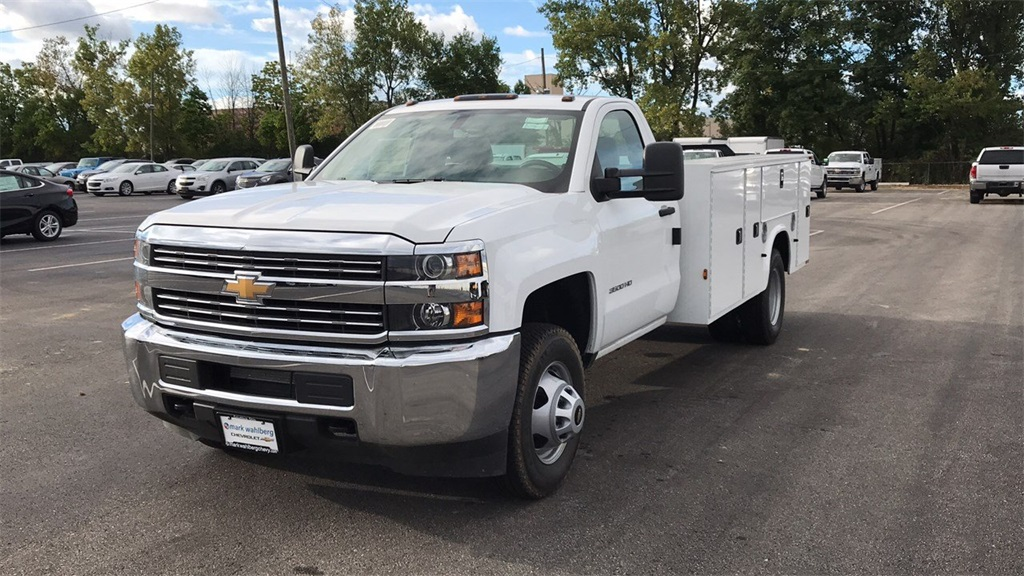 2018 Silverado 3500 Regular Cab DRW 4x2,  Service Body #CJF146153 - photo 3