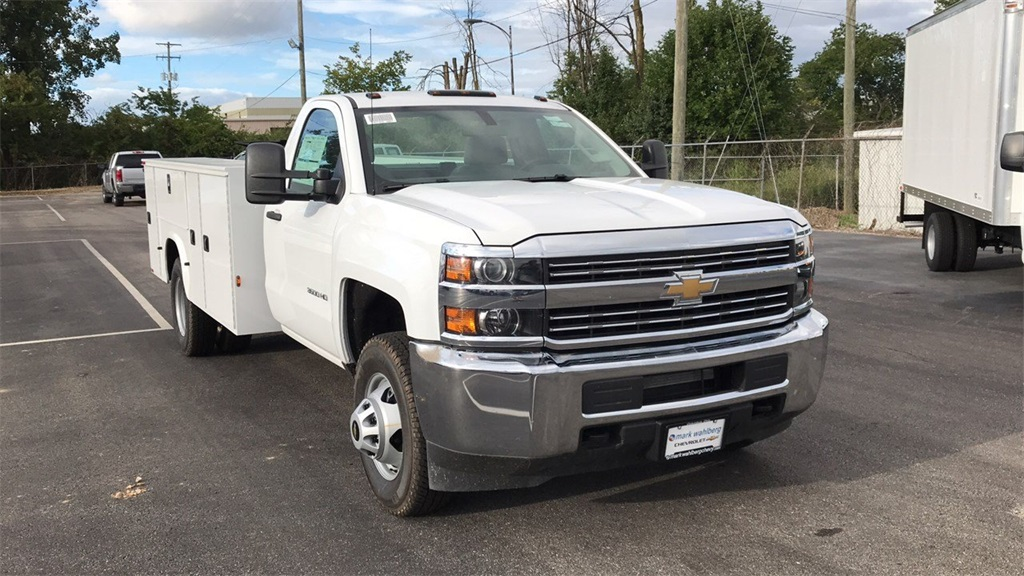 2018 Silverado 3500 Regular Cab DRW 4x2,  Service Body #CJF146153 - photo 6