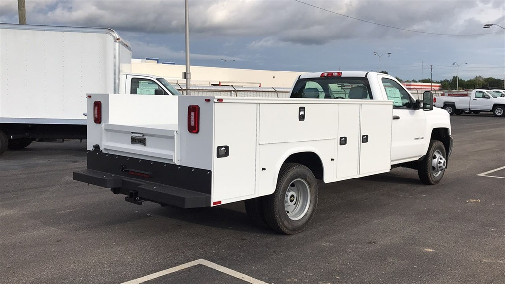 2018 Silverado 3500 Regular Cab DRW 4x2,  Service Body #CJF146153 - photo 2