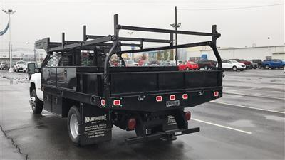2018 Silverado 3500 Regular Cab DRW 4x4,  Knapheide Concrete Contractor Body #CJF146828 - photo 2