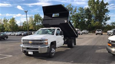 2018 Silverado 3500 Regular Cab DRW 4x2,  Knapheide Drop Side Dump Body #CJF148363 - photo 4