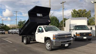 2018 Silverado 3500 Regular Cab DRW 4x2,  Knapheide Drop Side Dump Body #CJF148363 - photo 6