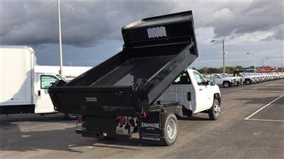 2018 Silverado 3500 Regular Cab DRW 4x2,  Knapheide Drop Side Dump Body #CJF148363 - photo 3