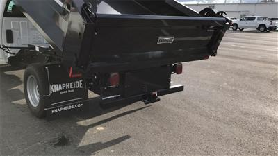 2018 Silverado 3500 Regular Cab DRW 4x2,  Knapheide Drop Side Dump Body #CJF148363 - photo 8