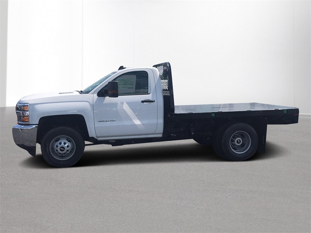 2018 Silverado 3500 Regular Cab DRW 4x2,  Knapheide Platform Body #CJF153578 - photo 4