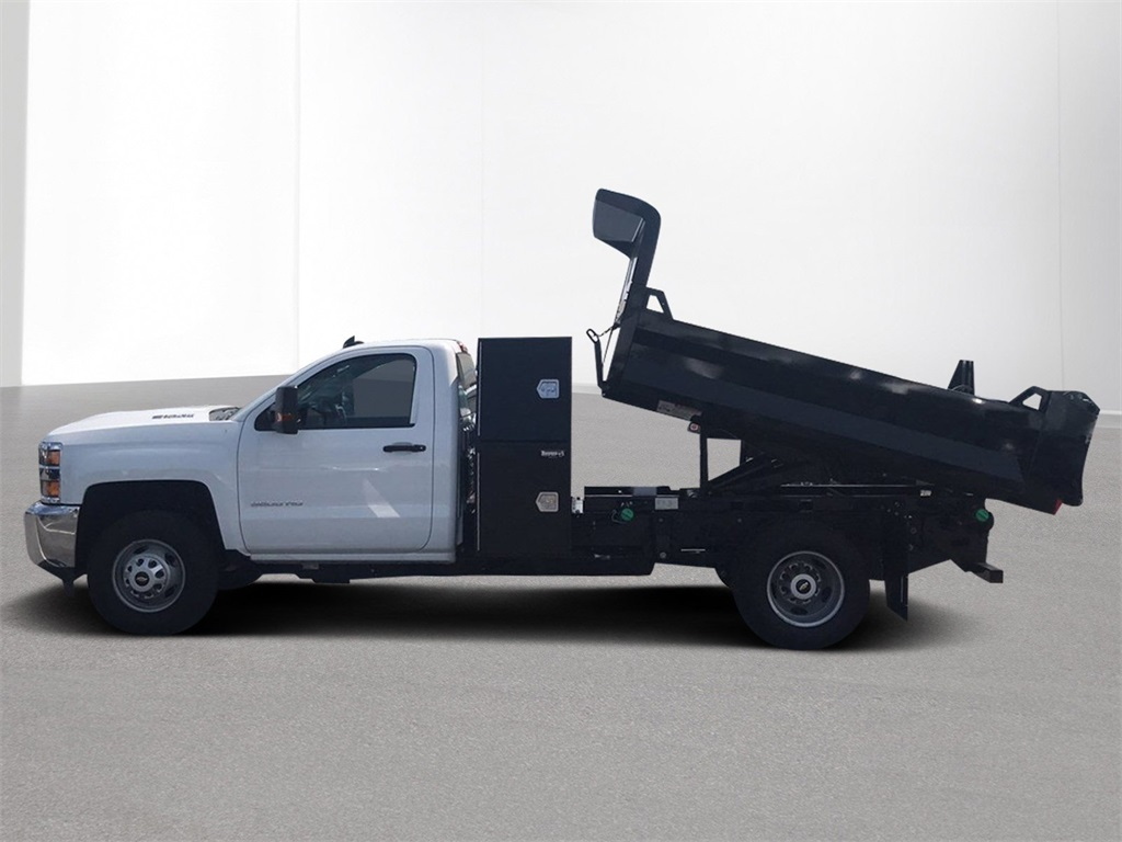 2018 Silverado 3500 Regular Cab DRW 4x4,  Knapheide Dump Body #CJF165819 - photo 4
