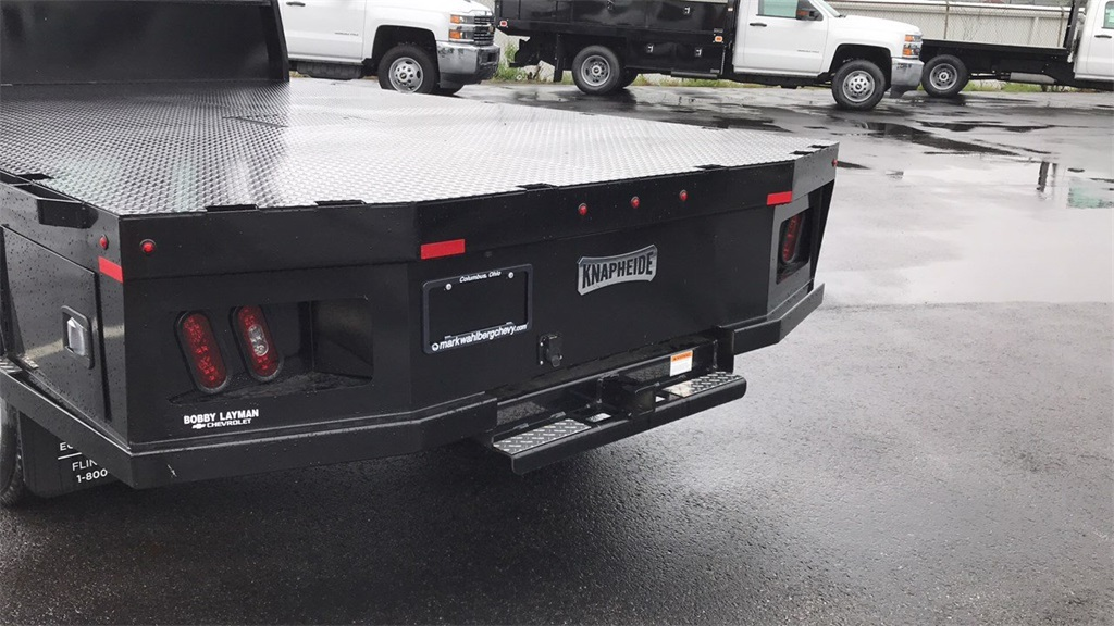 2018 Silverado 3500 Regular Cab DRW 4x4,  Knapheide Platform Body #CJF184226 - photo 8