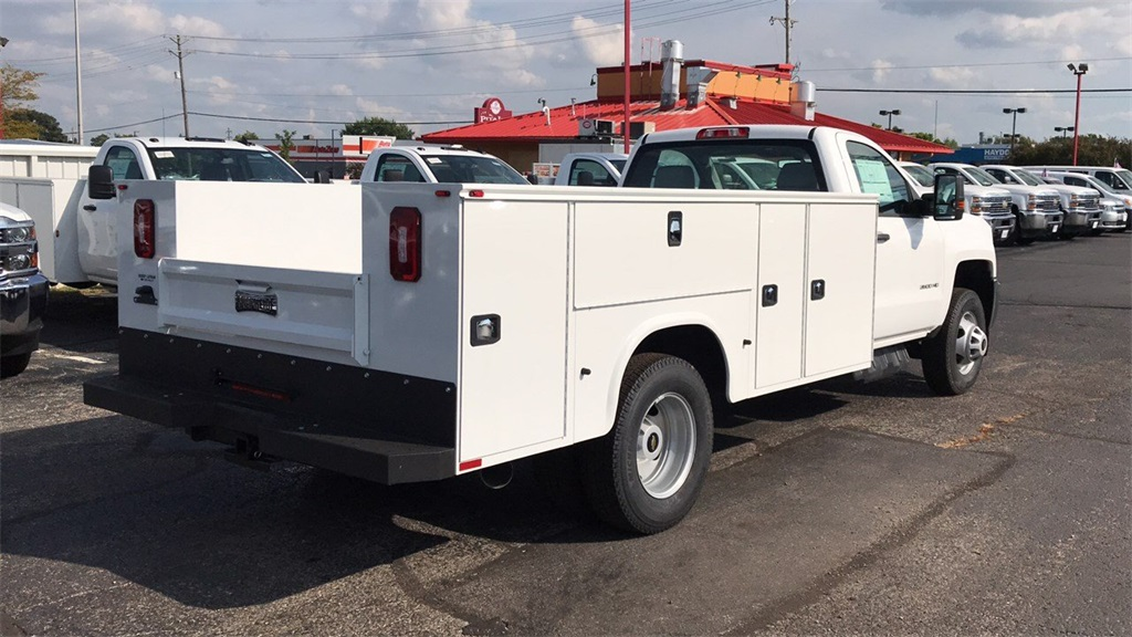 2018 Silverado 3500 Regular Cab DRW 4x4,  Knapheide Service Body #CJF185893 - photo 6