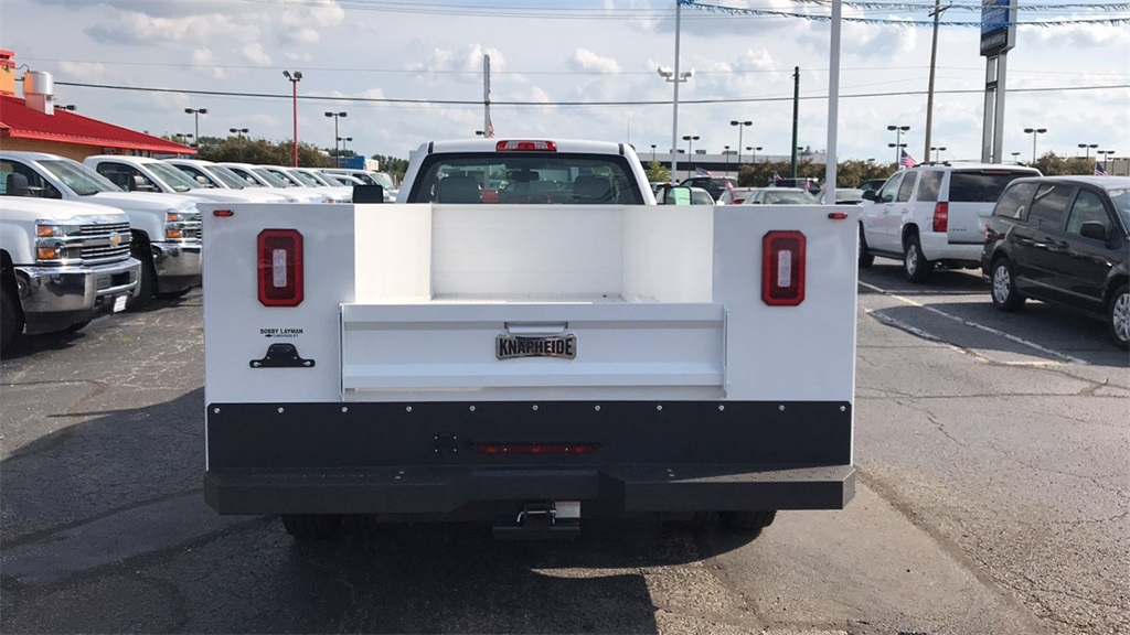 2018 Silverado 3500 Regular Cab DRW 4x4,  Knapheide Service Body #CJF185893 - photo 7