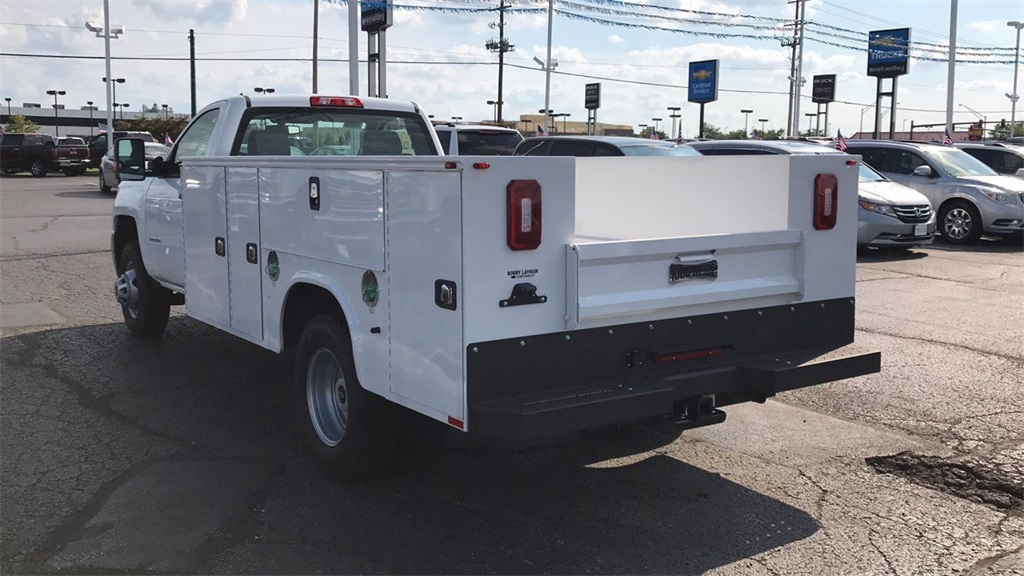 2018 Silverado 3500 Regular Cab DRW 4x4,  Knapheide Standard Service Body #CJF185893 - photo 2