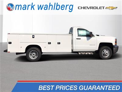 2018 Silverado 3500 Regular Cab DRW 4x4,  Knapheide Standard Service Body #CJF185893 - photo 1