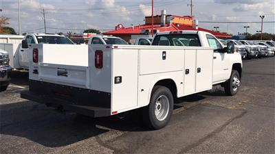 2018 Silverado 3500 Regular Cab DRW 4x4,  Knapheide Standard Service Body #CJF185893 - photo 6