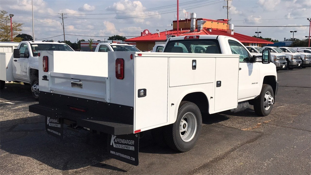 2018 Silverado 3500 Regular Cab DRW 4x4,  Knapheide Service Body #CJF196370 - photo 6