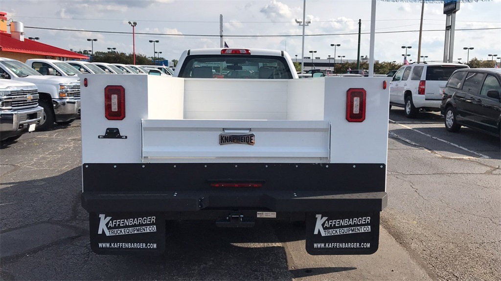2018 Silverado 3500 Regular Cab DRW 4x4,  Knapheide Service Body #CJF196370 - photo 7