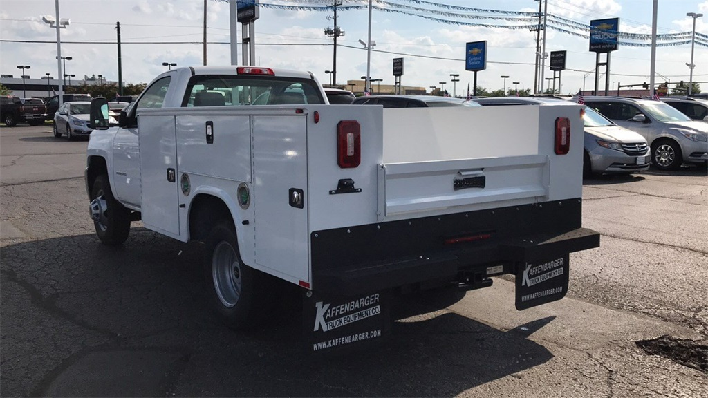 2018 Silverado 3500 Regular Cab DRW 4x4,  Knapheide Service Body #CJF196370 - photo 2