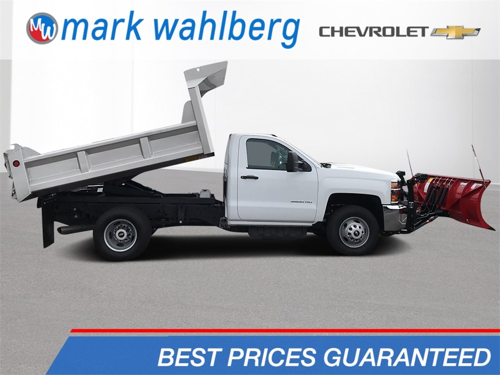 2018 Silverado 3500 Regular Cab DRW 4x4,  Dump Body #CJF202905 - photo 1