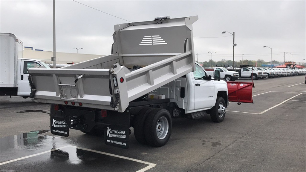 2018 Silverado 3500 Regular Cab DRW 4x4,  Crysteel Dump Body #CJF202905 - photo 6