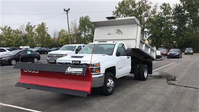 2018 Silverado 3500 Regular Cab DRW 4x4,  Dump Body #CJF202905 - photo 2