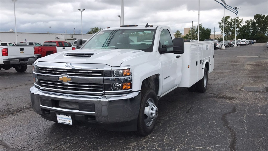 2018 Silverado 3500 Regular Cab DRW 4x2,  Knapheide Service Body #CJF214969 - photo 3