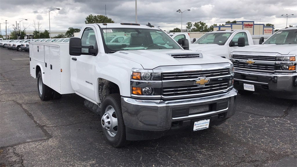 2018 Silverado 3500 Regular Cab DRW 4x2,  Knapheide Service Body #CJF214969 - photo 5